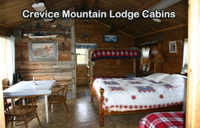 Crevice Mountain Lodge Cabins