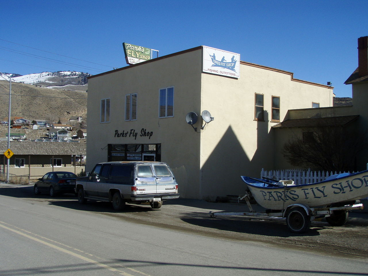 Parks' Fly Shop in Gardiner Montana